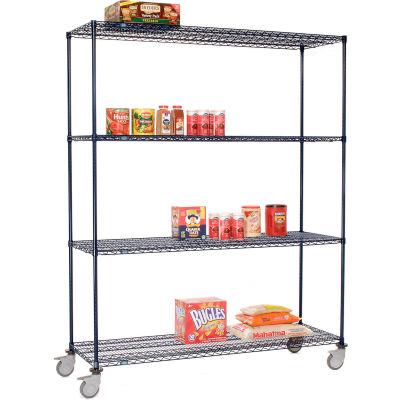 Nexelon™ Wire Shelf Truck 48x24x80 1200 Lb. Capacity