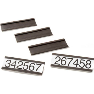 "Magnetic Card Holders 3""W X 1""H (25 pcs/pkg)"