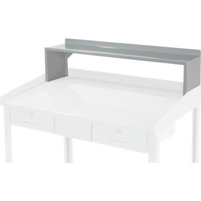 """Global Industrial™ Steel Riser Shelf, 48""""W x 9""""D, Gray"""