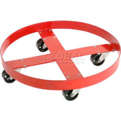 Global Industrial™ Drum Dolly for 30 Gallon Drum - Steel Wheels 1000 Lb. Capacity