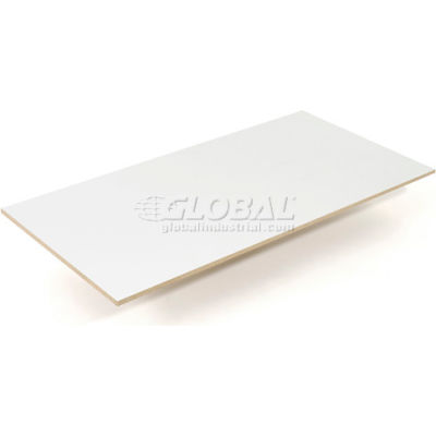 """Global Industrial™ Melamine Laminated Deck 96""""W x 48""""D x 1/2"""" Thick"""