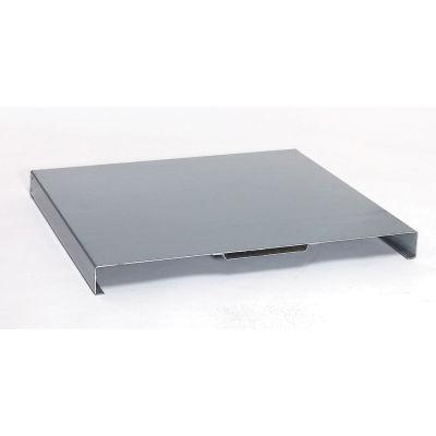 "Global Industrial™ Die Rack Shelf, 72""W x 24""D x 2""H, Gray"