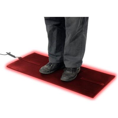 "Cozy Products Foot Warmer™ Heated Floor Mat 1/4"" Épais 3' x 2' Noir"
