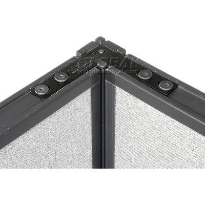 "Interion® 90 Degree Corner Connector Kit For 72""H Panel"