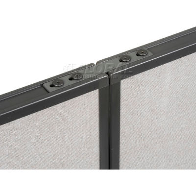 Interion® Straight Connector Kit For Office Partitions