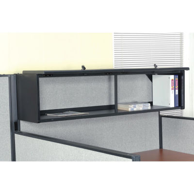 "Interion® 60"" Overhead Cabinet In Black"