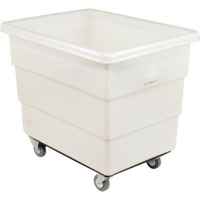 Dandux White Plastic Box Truck 51126016N-3S 16 Bushel Medium Duty