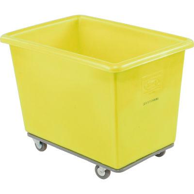 Dandux Yellow Plastic Box Truck 6 Bushel Heavy Duty