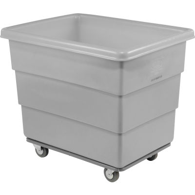 Dandux Gray Plastic Box Truck 51116008A-3S 8 Bushel Heavy Duty