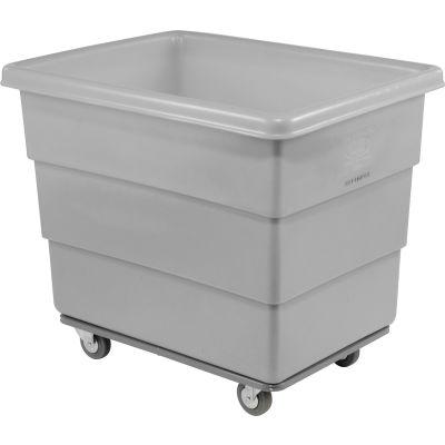 Dandux Gray Plastic Box Truck 51116016A-4S 16 Bushel Heavy Duty