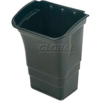 Rubbermaid® Refuse Bin, 8 Gallon, Black