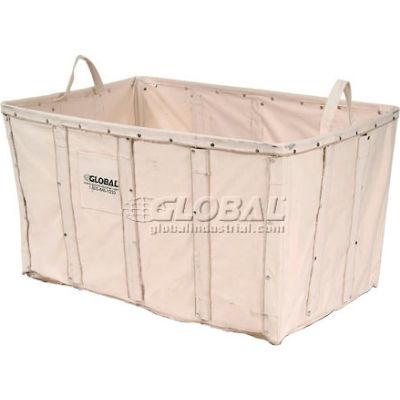 Global Industrial™ Replacement Liner For 8 Bushel Canvas Basket Bulk Truck