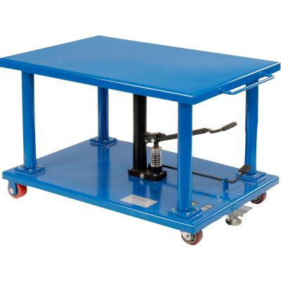 Global Industrial™ Work Positioning Post Lift Table Foot Control 2000 Lb. Cap. 36x24 Platform