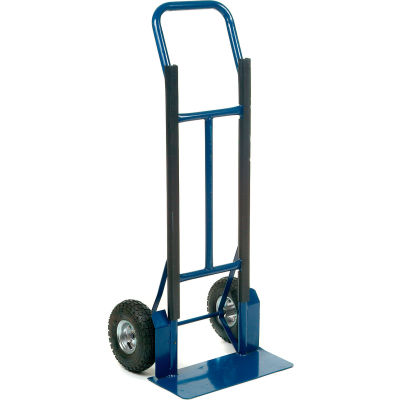 Global Industrial™ Extra Strength Steel Hand Truck with Curved Handle 600 Lb. Capacity