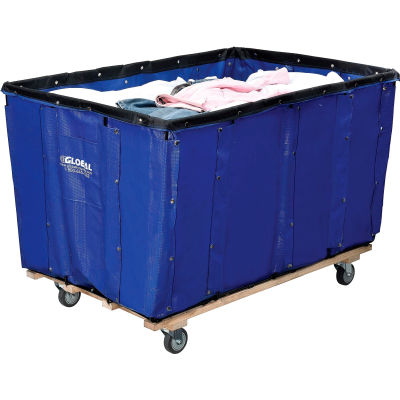 Global Industrial™ Best Value 24 Bushel Blue Vinyl Basket Bulk Truck