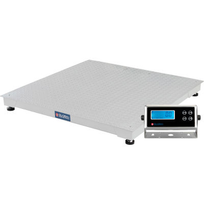 "Global Industrial™ Pallet Scale, 48"" x 48"", 5000 lb x 1 lb"
