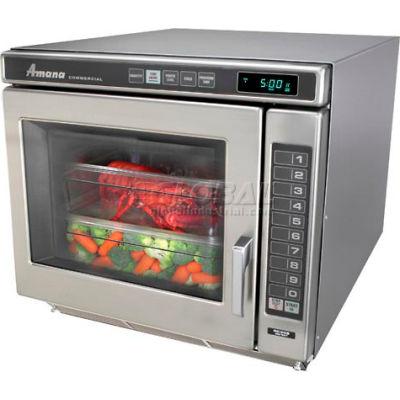 Amana® RC30S2, Commercial Microwave, 1.0 Cu. Ft., 3000 Watt, Keypad Control