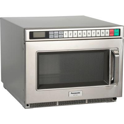 Micro-ondes commercial Panasonic® NE-17521, 0,6 pi cu, 1700 Watts, écran tactile