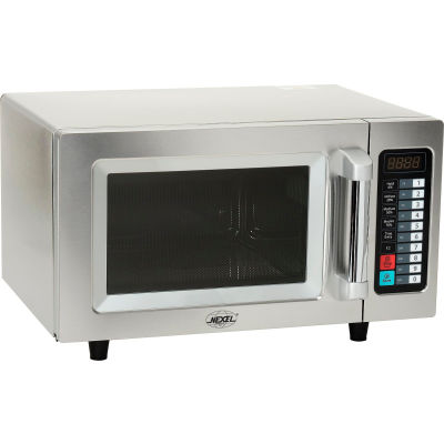 Nexel® Commercial Microwave Oven, 0.9 Cu. Ft., 1000 Watts, Touchpad Control