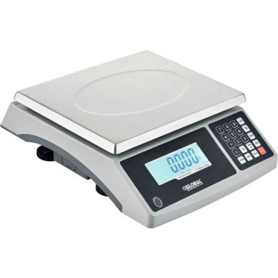 Global Industrial™ Electronic Counting Scale, 60 lb. Capacity x .002 lb Readability
