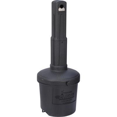 Cendrier extérieur noirGlobal Industrial™-5 gal.