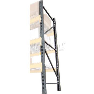 "Husky Rack & Wire Lynx/Double Slotted Pallet Rack Upright - 36""D x 72""H"