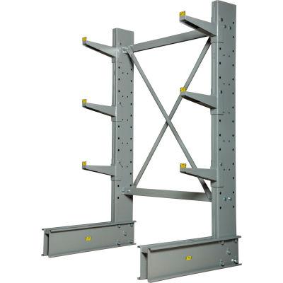 "Cantilever Rack monoface Starter unité Medium Duty (série 1000), 48"" W x 33"" D x 6' H, 8100 Lbs Cap"