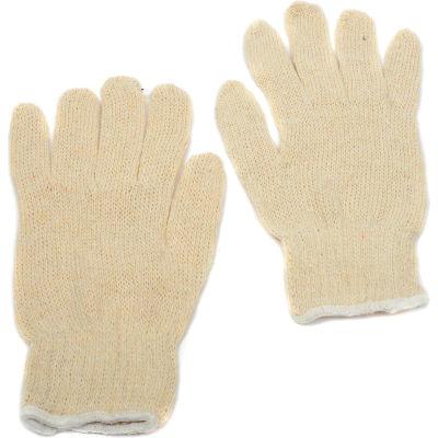Dozen Women String Gloves Non-Grip