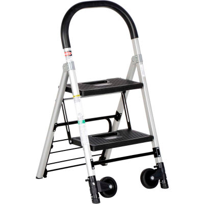 """Folding Stepladder Also Functions as a Hand Truck 20""""D x 37""""H"""