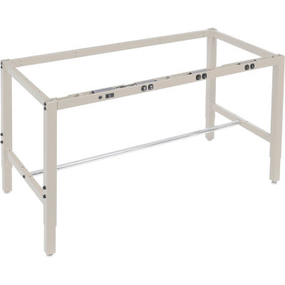 "Global Industrial™ 60""W x 30""D Workbench Frame w/ Electric-Tan"