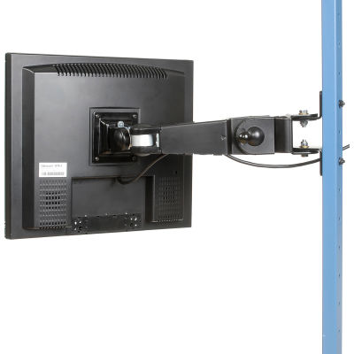 "Global Industrial™ LCD Flat Panel Monitor Arm, 10""-30"" Arm"