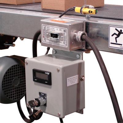 Omni Metalcraft Conveyor Box & Parts Counter 115516 with Photo Eye & Digital Display