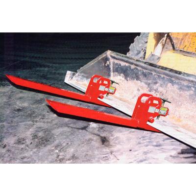 Caldwell Clamp-On Bucket Forks COF-.95 - 1900 Lb. Capacity - Pair