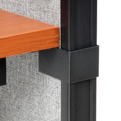 Interion® Desk To Panel Bracket Set (1 Left & 1 Right With Screws)