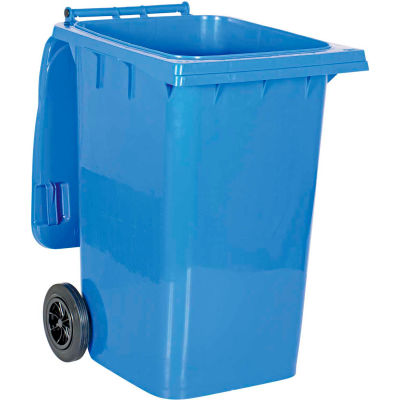 Mobile Trash Can - 95 Gallon Blue - TH-95-BLU