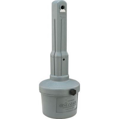 Cendrier extérieur Global Industrial™, 1-1/2 gal., gris