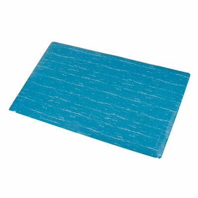 "Apache Mills Marble Foot™ Anti Fatigue Mat 1/2"" Thick 4' x 60' Blue"