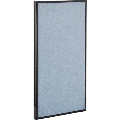 "Interion® Office Partition Panel, 24-1/4""W x 42""H, Blue"