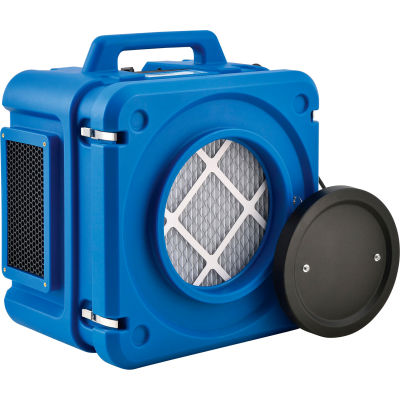 Global Industrial™ Commercial Air Scrubber/Negative Air Machine, 3 Stage W/HEPA Filter, 500 CFM