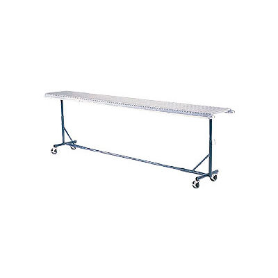 "Omni Metalcraft Portable Castered Conveyor Support 18""W PTST15.75-23-39-10"
