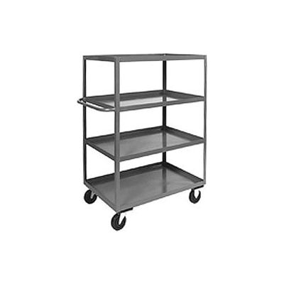 Heavy Duty Shelf Truck CD248 4 Shelves 48 x 24 3000 Lb. Capacity