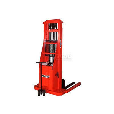 PrestoLifts™ Battery Power Straddle Stacker PS262-50 Fixed Legs 2000 Lb.