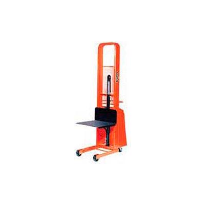 PrestoLifts™ Pacemaker Battery Powered Lift Stacker B566-1500 1500 Lb. 24x24 Platform