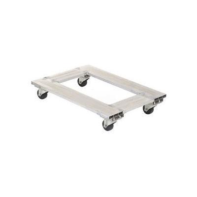 """Aluminum Caster Dolly ACP-1824-9 24""""L x 18""""W 900 Lb. Capacity"""