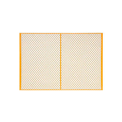 Global Industrial™ 7' W Machinery Wire Fence Partition Panel