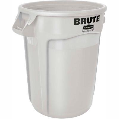 Round Rubbermaid Brute 20 Gallon Trash Container