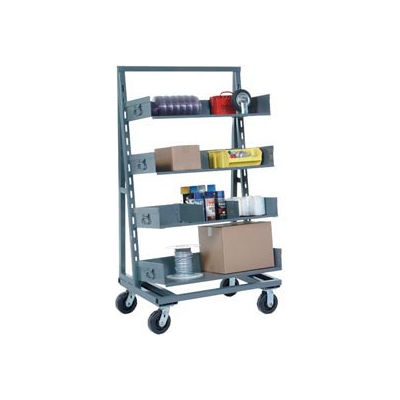 Single Sided Tray Truck Only  38 x 24 x 67 2000 Lb. Capacity