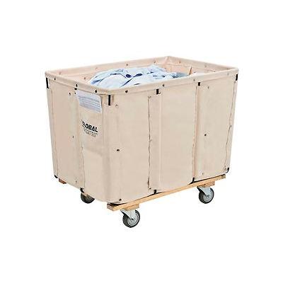 Global Industrial™ Basket Bulk Truck, Canvas, 12 Bushel Capacity