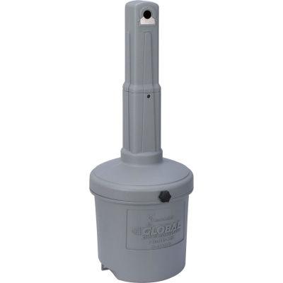 Cendrier extérieur Global Industrial™,5 gallons, gris