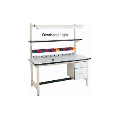 """Pro-Line Steel Cantilever Shelf, 60""""W x 12""""D, Beige"""